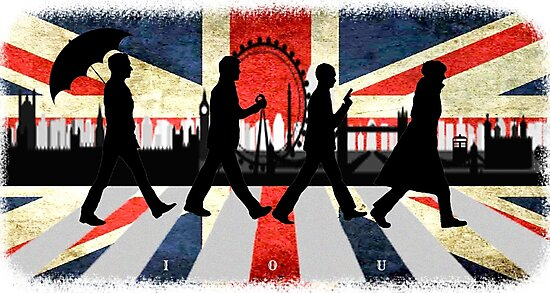 221B Abbey Road (Version One) by Ambear92