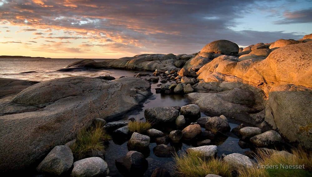 Sunrise at Land's End by Anders Naesset