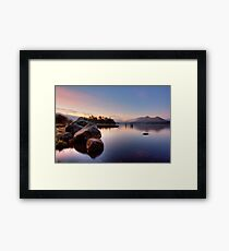 Winter Light on Derwent Water Framed Print