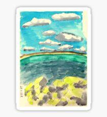 Black sea Sticker