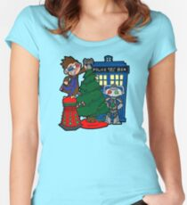 Tenth Christmas! Women's Fitted Scoop T-Shirt