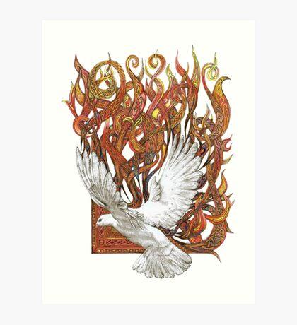 Spirit of God Art Print
