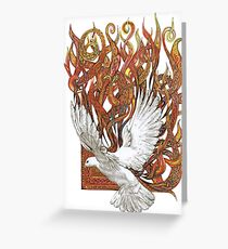 Spirit of God Greeting Card