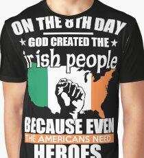 Funny Irish Irish American Graphic T-Shirt