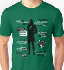 Mass Effect - Thane Quotes T-Shirt