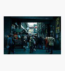 8-bit Lane Photographic Print