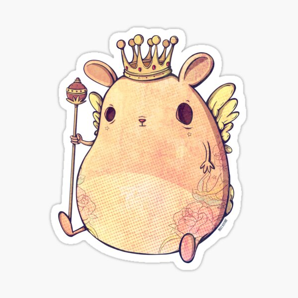 Prince Angel of Bunnyland Sticker