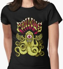 Primus -  Flying Octo Womens Fitted T-Shirt