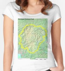 Dartmoor National Park Fitted Scoop T-Shirt