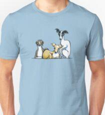 Italian Greyhound Trio Unisex T-Shirt