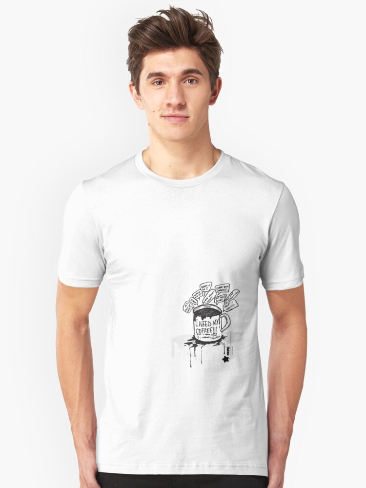 coffee time Unisex T-Shirt Front