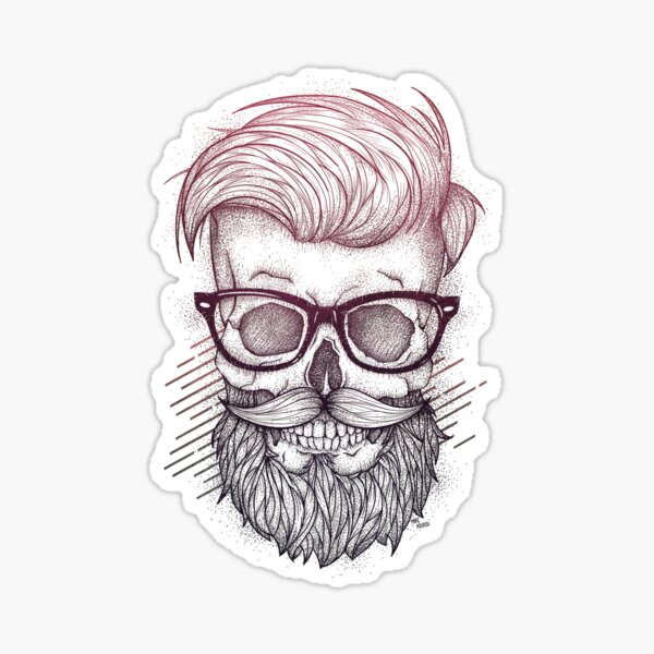 Hipster is Dead Sticker