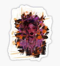 I girl Sticker