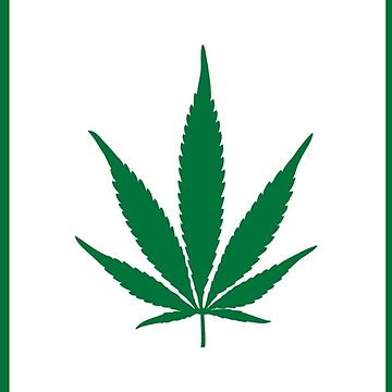 Canadian Weed Leaf Flag by dreamtofly