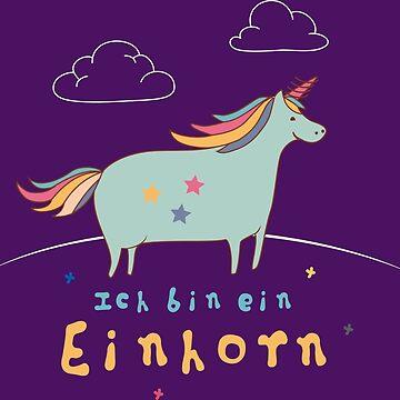 ICH BIN EIN EINHORN by DRgrfx