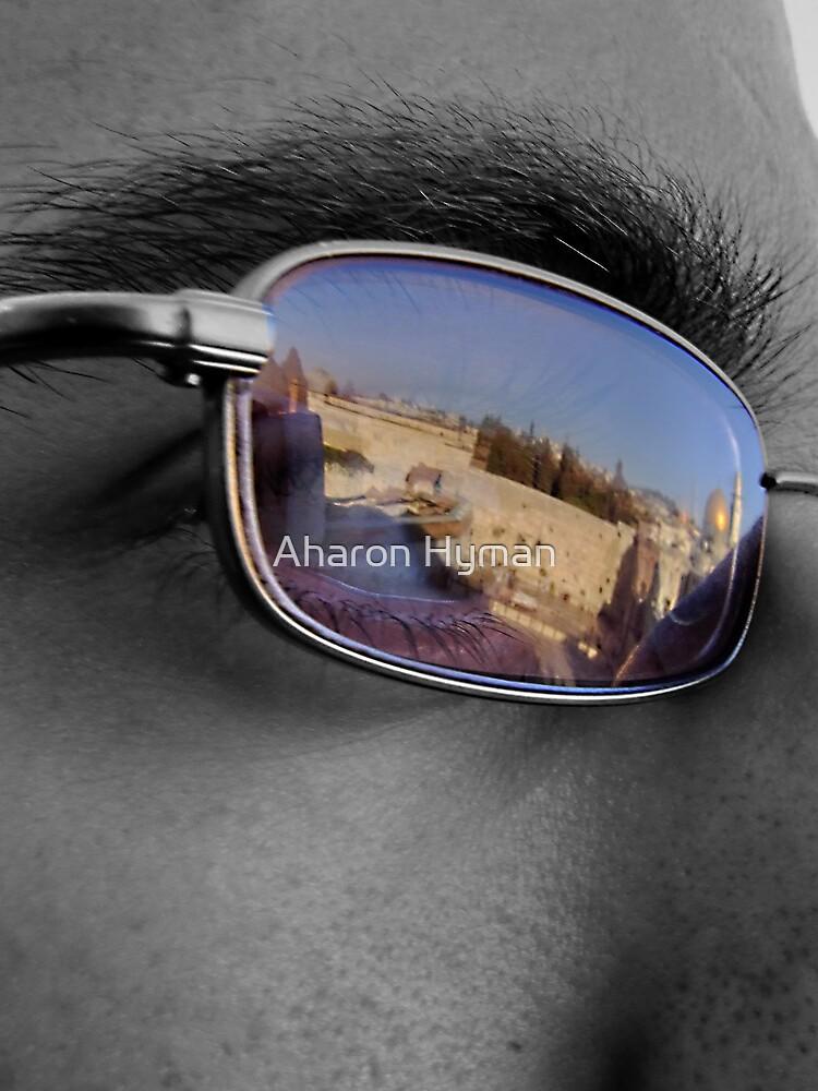 uplifting eye by Aharon Hyman