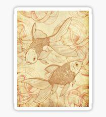 Goldfishes Nr. 2 Sticker