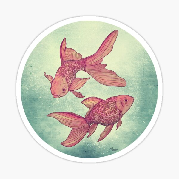 Goldfishes Sticker