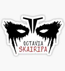 octavia skairipa Sticker