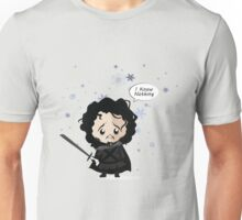 Jon in the Snow Unisex T-Shirt