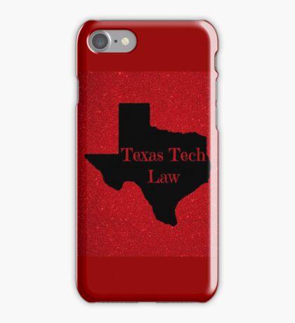 Texas Tech University School of Law iPhone Case/Skin