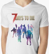 7 Days to Die - Galaxy Men's V-Neck T-Shirt