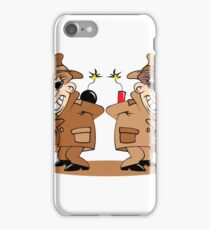 two spies iPhone Case/Skin