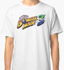 SUPER BOMBERMAN 3 LOGO Classic T-Shirt