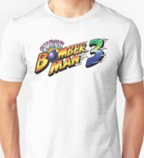 SUPER BOMBERMAN 3 LOGO Unisex T-Shirt