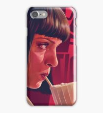 Mia Wallace Milkshake iPhone Case/Skin