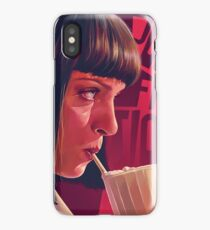 Mia Wallace Milkshake iPhone Case