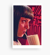 Mia Wallace Milkshake Canvas Print