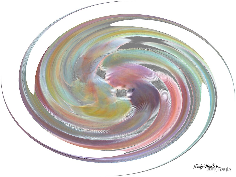 Spiral Colors by Judy Gayle Waller