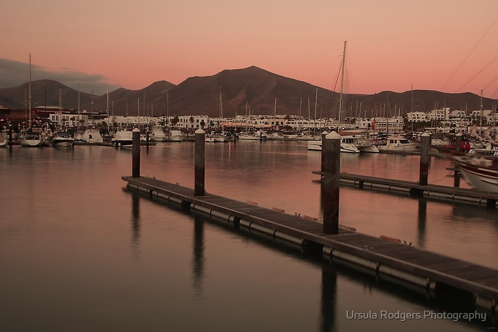 Marina Sunset by Ursula Rodgers Photography