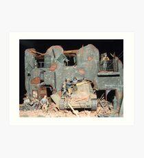 World War II Destruction Art Print