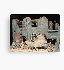 World War II Destruction Canvas Print