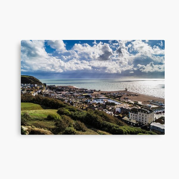 Hastings Old Town Canvas Print