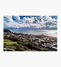 Hastings Old Town Photographic Print