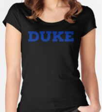 DUKE UNIVERSITY stickers Women's Fitted Scoop T-Shirt