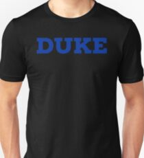 DUKE UNIVERSITY stickers Unisex T-Shirt