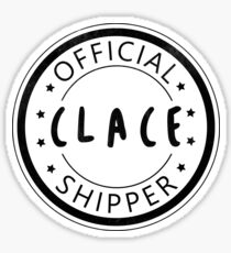 Official Clace Shipper Sticker