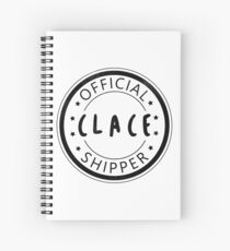 Official Clace Shipper Spiral Notebook