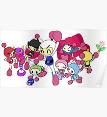 Super Bomberman R - Bomberman and Friend!  Poster