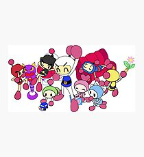 Super Bomberman R - Bomberman and Friend!  Photographic Print