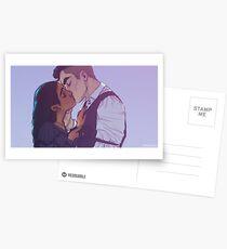 Inej and Kaz Postcards