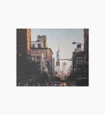 Lámina de exposición Nueva York