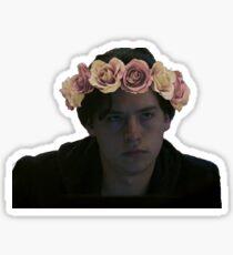 Flower Crown Jughead  Sticker