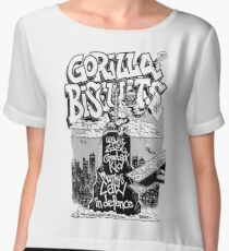 Gorilla Biscuits Chiffon Top