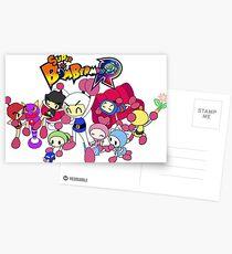 Super Bomberman R - Bomberman and Friend!  (Logo) Postcards