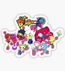 Super Bomberman R - Bomberman and Friend!  (Logo) Sticker